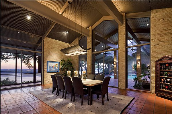 Austin Modern House With Indoor Pool