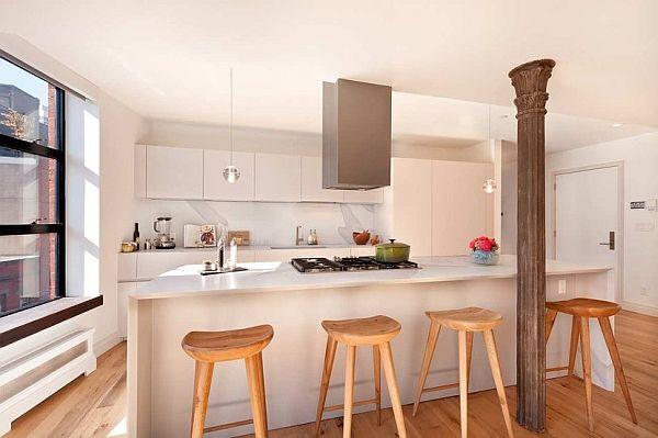Chic and big apartment in nolita manhattan - Casas de madera por dentro ...