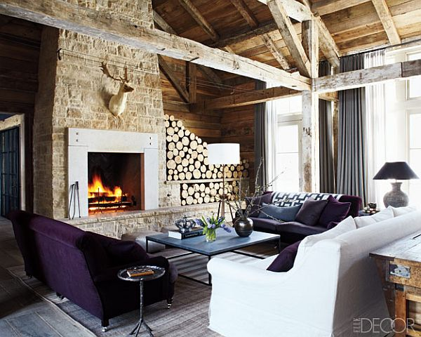 Rustic mountain retreat for Mountain home design trends