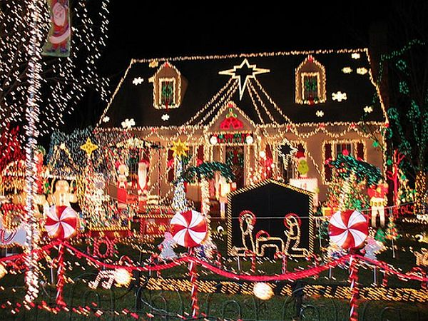 Delightful Outdoor Christmas Decoration Ideas