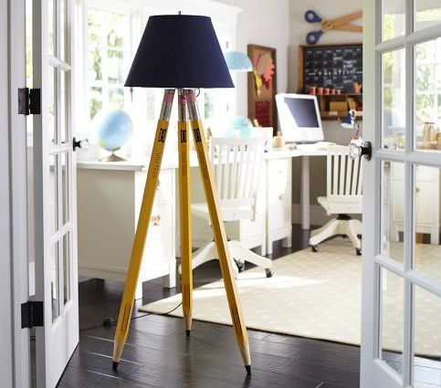 pencil floor lamp