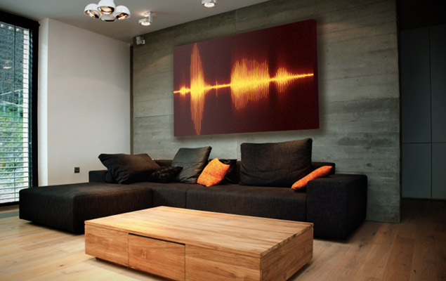 Visualize Your Favorite Sounds With Resonant Decor