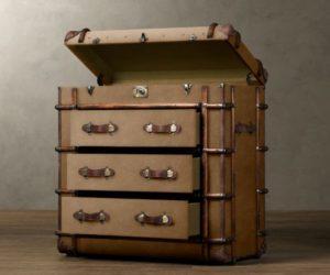 The antique Richards' medium chest