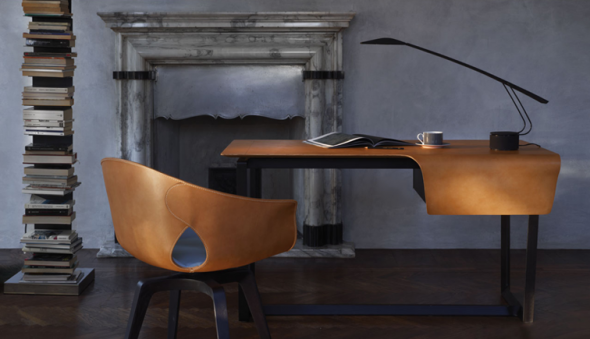 The Fred & Ginger Table & Chair by Roberto Lazzeroni