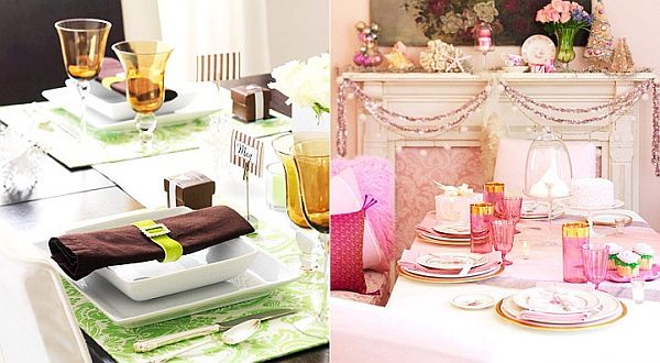Christmas table decoaration ideas
