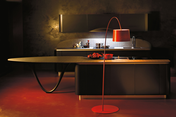 Contemporarary Ola Kitchen by Snaidero