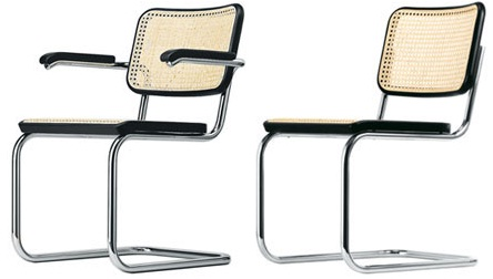 sc 1 st  Homedit & Tubular steel chair by Marcel Breuer