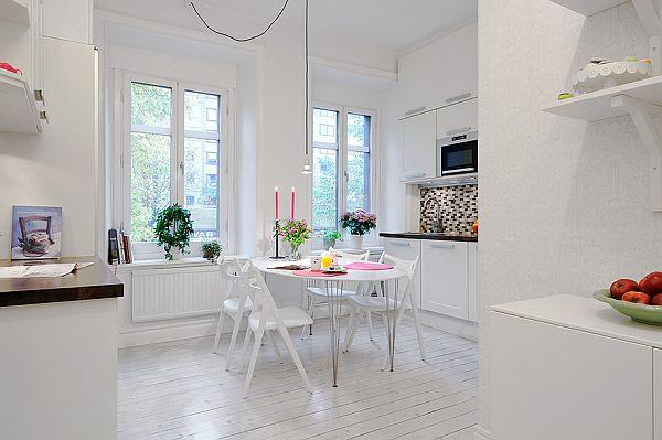 pleasant Swedish apartment