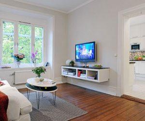 Tasteful and pleasant Swedish apartment