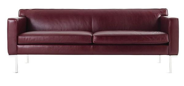 Theatre Sofa In Edelman All Grain Leather