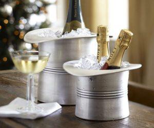 Elegant Top Hat Ice Buckets