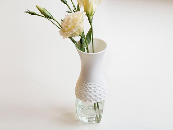 Lovely Lace Vase