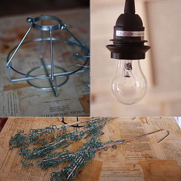 Diy Pendant Lighting Cheap Twinkle Chandelier Peaches1 Homedit Original Industrial Pendant Lights You Can Craft Yourself