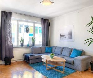 Spacious two-bedroom apartment in Stockholm for sale