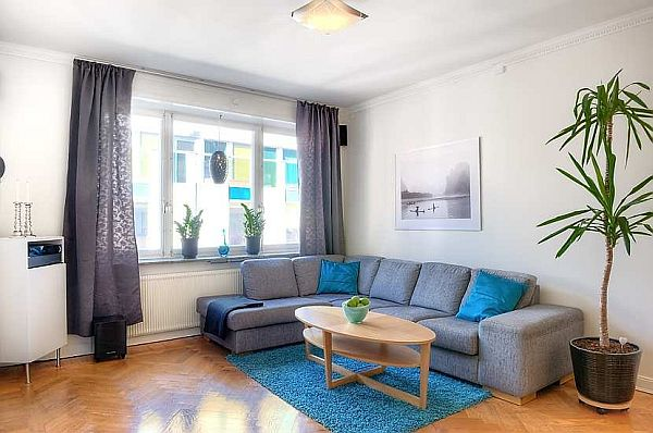 Spacious Two Bedroom Apartment In Stockholm For Sale