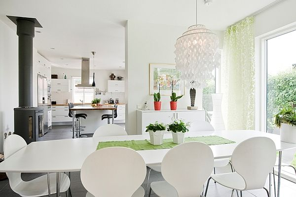 Stylish White Interior Design
