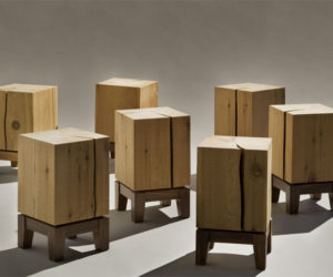 The Cyril Stool collection by UM Project
