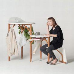 Multifunctional Woody Desk