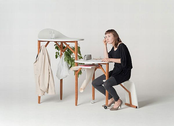 Multifunctional Woody Desk