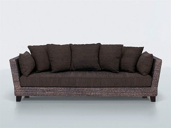 Comfortable 3 Seater Sofa from Natural Fibers by Yves Dever : 3 Seater Natural Fiber Sofa from www.homedit.com size 600 x 450 jpeg 27kB