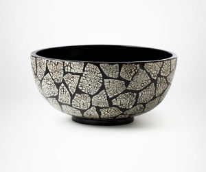 Charming Lacquer Eggshell Bowl Awesome Design