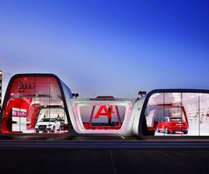 Audi AreA1 Showroom in Barcelona
