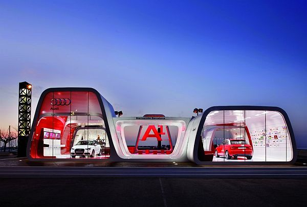 Audi Area1 Showroom In Barcelona