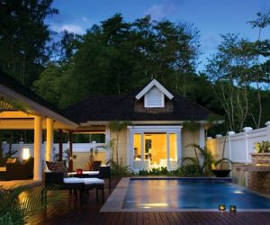 The luxurious Banyan Tree hideaway in Seychelles