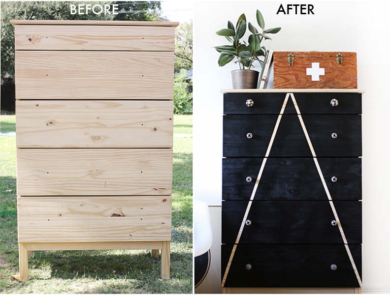 Before and after mountain dresser