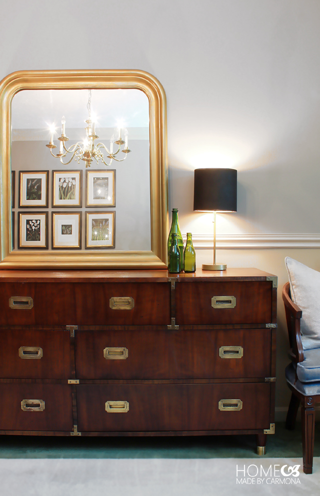 Campaig dresser restoration