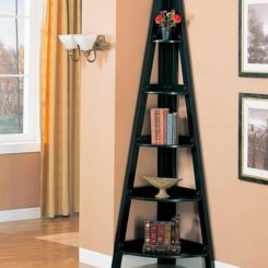 The Coaster Bookcases Casual Corner Shelf