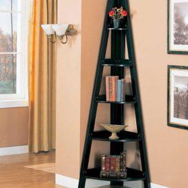 The Coaster Bookcases Casual Corner Shelf