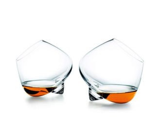 Unconventional Set of Cognac Glasses from Normann Copenhagen