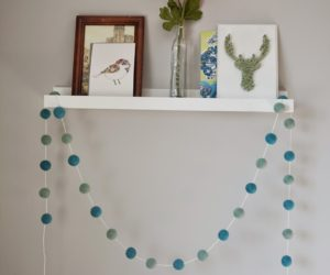DIY Felt Garlands You Can Use As Festive Decorations