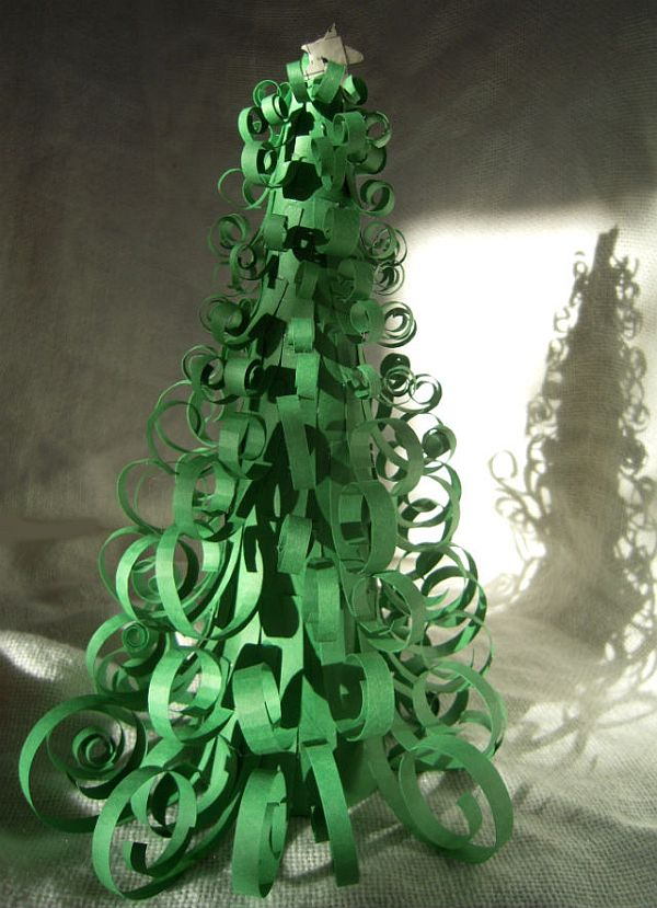 Easy Diy Curly Christmas Tree