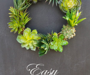 Simple DIY Green Wreaths With Small Budget Requirements