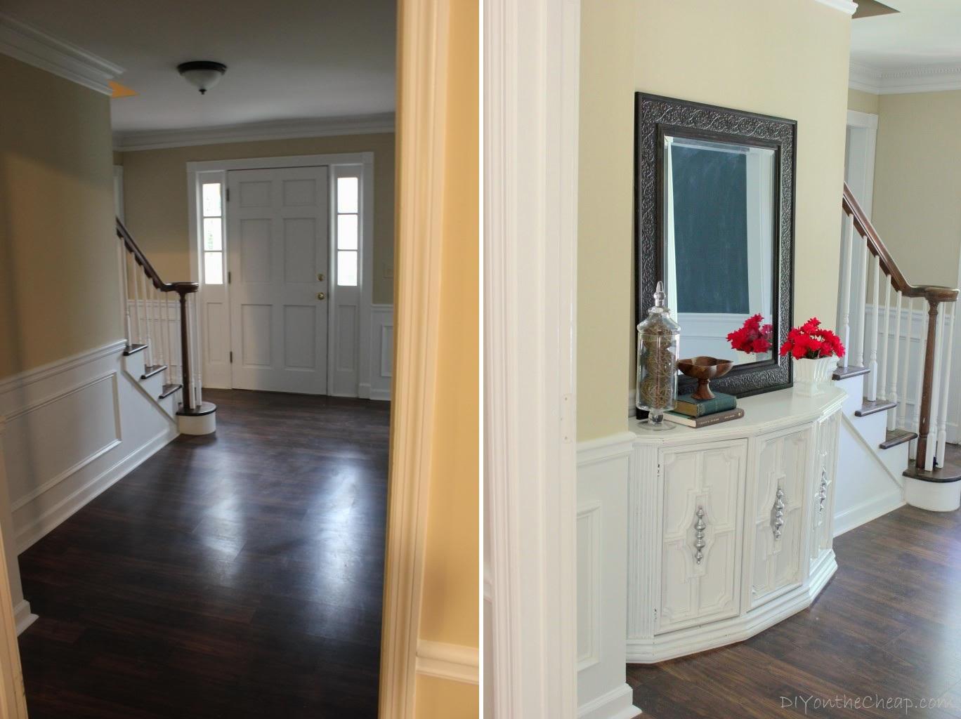 Entryway makeover design