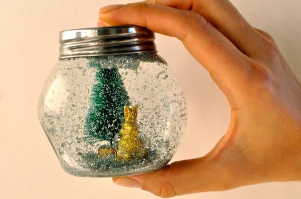 How To Make A Snow Globe For A Sparkling Christmas