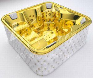 24 Carat Gold Bathtub by Arcaro Martini