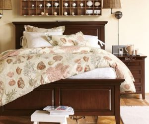 The elegant Hudson Bed & Dresser Set