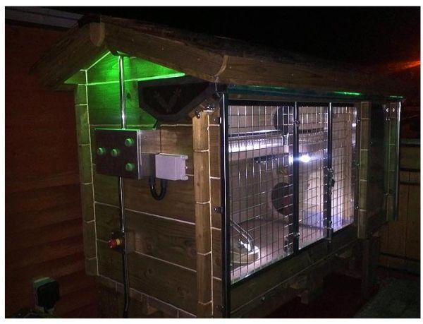 Ingenious Rabbit Hutch Worth 10000