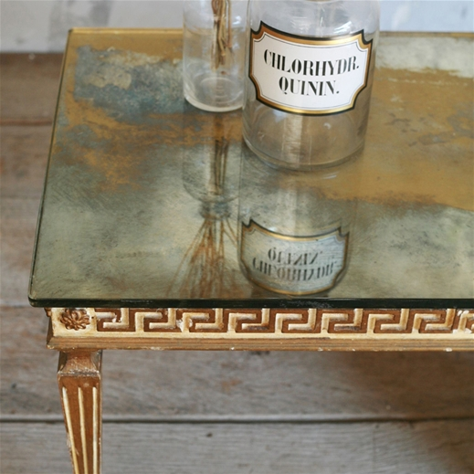 Kind Vintage Coffee Table Greek Key
