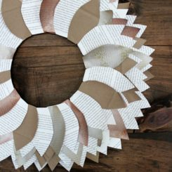 Ingenious And Crafty Ways Of Turning Paper Into Stylish Wreaths