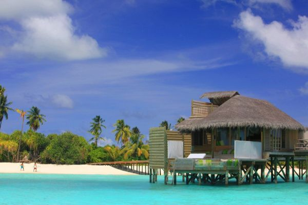 Paradise At Six Senses Laamu, Maldives Images