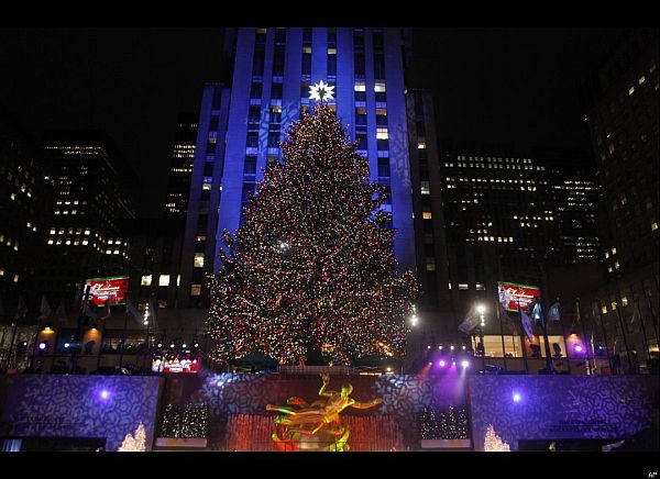 The 12 world\'s most beautiful Christmas trees