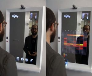 Stunning High-Tech Mirror