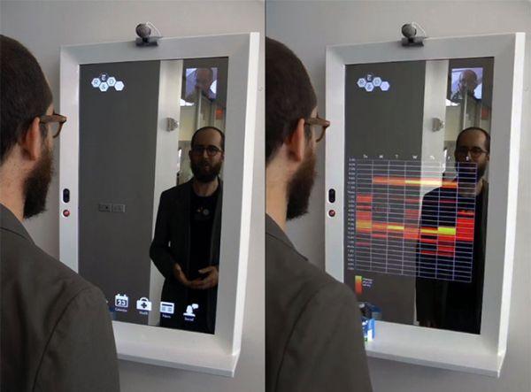 Stunning High Tech Mirror
