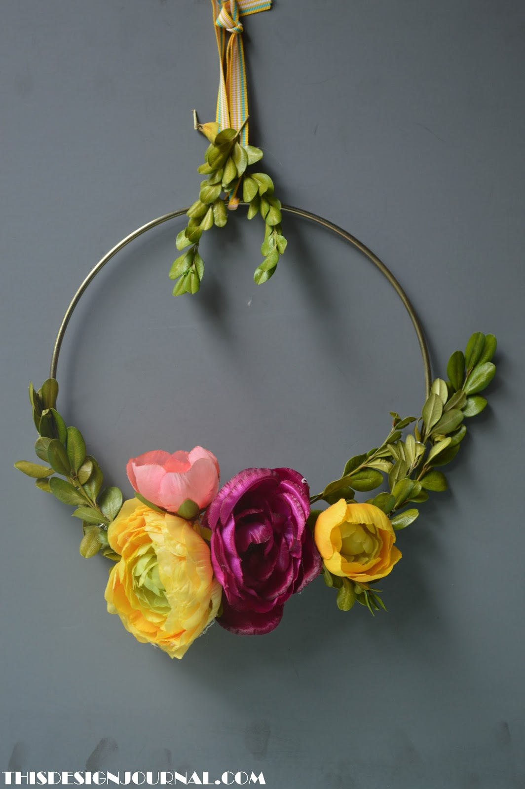 Summer wreath Craft Project