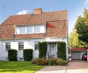 Bright and stylish Swedish residence