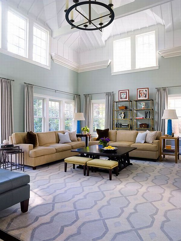 Turquoise Residential Interior Design By Alisberg Parker